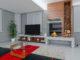 Render 3D arquitectura Salón